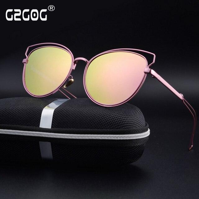e1ab66848f GZGOG Fashion Sunglasses Women Popular Brand Design Polarized Sunglasses  Summer HD Polaroid Lens Sun Glasses With