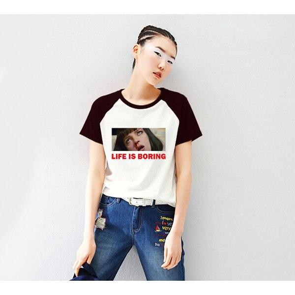 life-is-boring-quentin-font-b-tarantino-b-font-t-shirt-women-tops-girl-womens-pulp-fiction-tshirt-vogue-vintage-classic-korean-tee