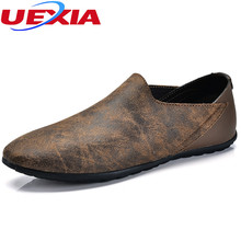 Fashion Men shoes Handmade Loafers suede flats shoes men casual leather summer designer loafers moccasins Zapatillas Deportivas