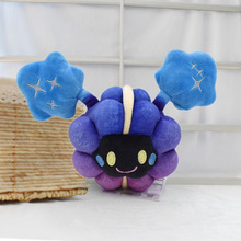 цена на 10pcs/lot 2017 Free Shipping New Cartoon Anime Cosmog Soft Stuffed Plush Toy Animal Doll Gift for Children 7