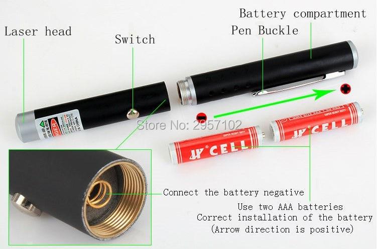 NEW Green Laser Pointer Pen Beam Light 200mW 532nW flashlight Professional Lazer High Power Powerful AAA