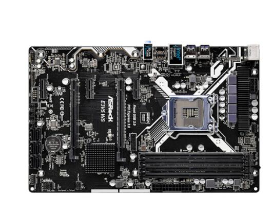 100% nova mãe original para Asrock E3V5 Placas para Servidor WS E3-1230v5 DDR4 LGA1151 Desktop motherborad C232 Frete grátis