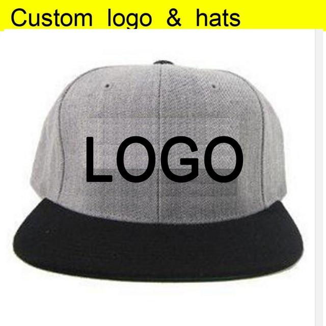 1d6a0746f US $95.0  Linen Hip hop Snapback Customized Baseball caps LOGO Embroidery  hats Adjust Sun cap Peaked hat Customized Linen Hats-in Baseball Caps from  ...