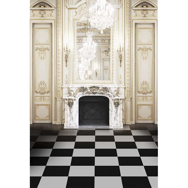 Engraving furniture photography backdrops black and white grid floor background for photo studio background photophone CM-4068-B black and white grids floor photography background hollow vinyl photo backdrops for photo studio funds props cm 4785