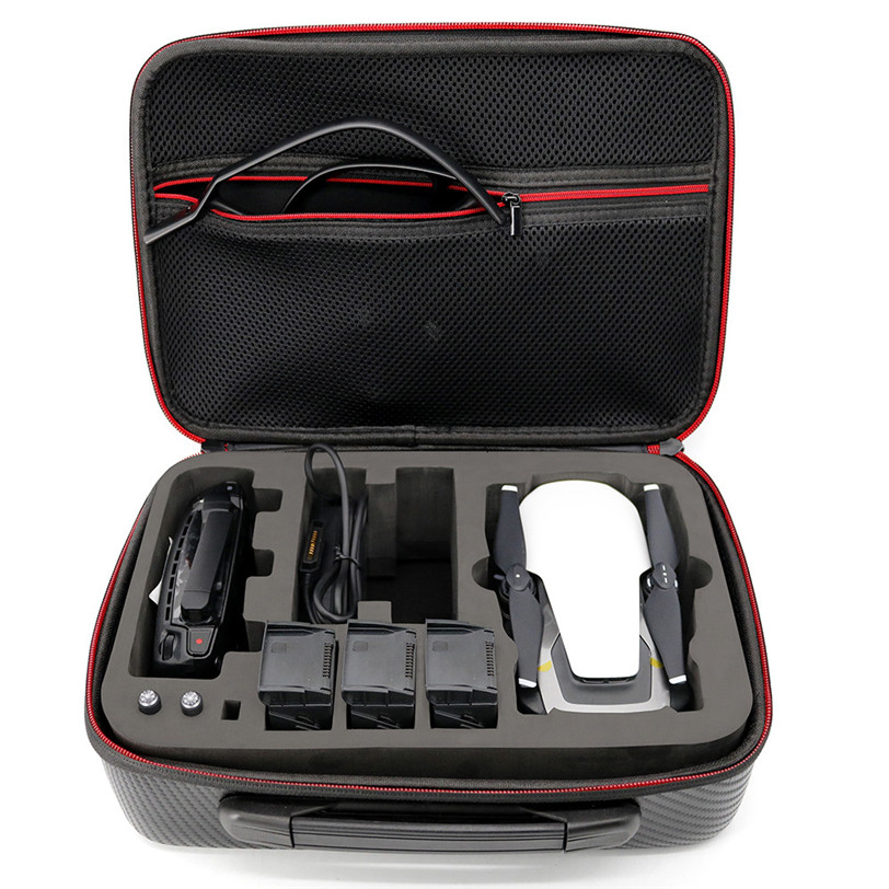 Waterproof Carry Storage Case Bag For DJI Mavic Air Quadcopter+3 Battery+Control For DJI Mavic Drone Parts 20J Drop Shipping