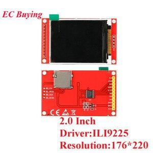 Image 4 - 1.44/1.8/2.0/2.2/2.4/2.8 אינץ TFT צבע מסך LCD תצוגת מודול כונן ST7735 ILI9225 ILI9341 ממשק SPI 128*128 240*320