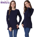 Emotion Moms New Long Sleeve Maternity Clothes COTTON winter Nursing Top Breastfeeding tops for Pregnant Women maternity T-shirt