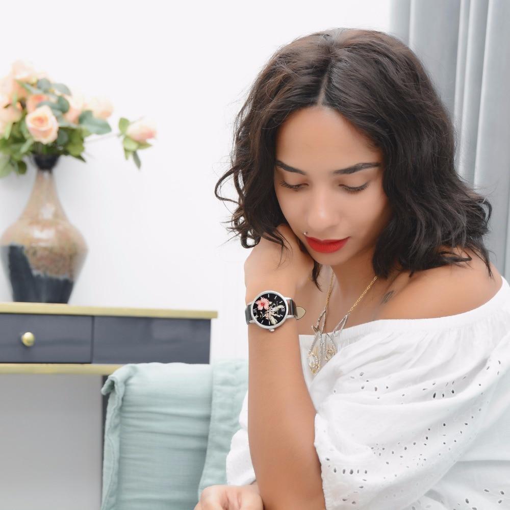 Lvpai Marka Modni povremeni cvijet Silver Žene Luksuzni Poslovni - Ženske satove - Foto 6