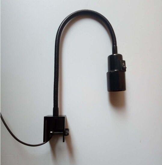 Lamp Clamp Max 30mm Gooseneck Clamp Diy E27 Lamp Holder Fish Tank