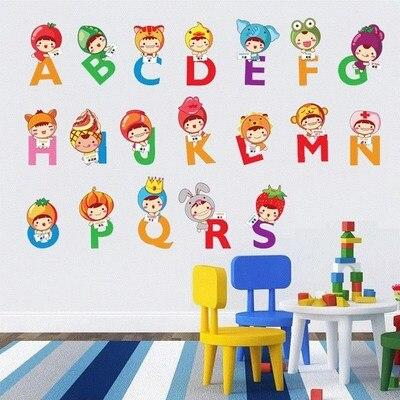 Детские размеры Ростомер рост ребенка измерения высота линейка настенная бумага Милая мультяшная Наклейка на стену - Цвет: R