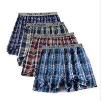 4pcs/lot Many color men arrow pants casual fashion letters waist belt big size boxer mens Cotton boxers men's shorts underwear