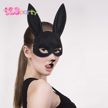 123 Party Halloween Horror Maskerade Masker Vrouwen Meisjes Sexy Kant Zwarte Cat Eye Masker Voor Fancy Dress Kerst Halloween Party(China)