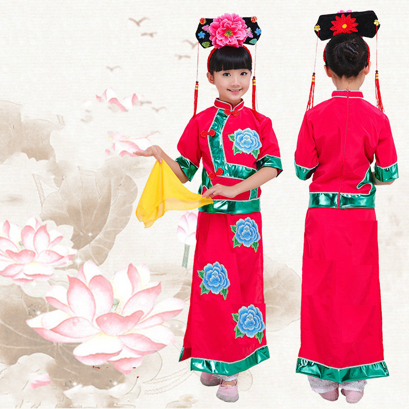 ac22df2a0 Qing Dynasty Clothing for Girls Qing Dynasty Costume Ancient Chinese Costumes  Qing Dynasty Princess Costumes Party Wear