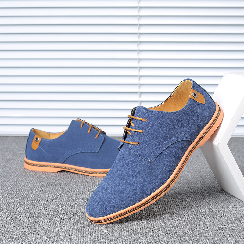 Casual Shoes Frosted Leather