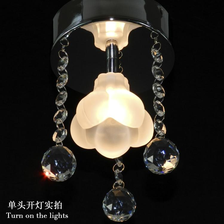 ФОТО modern crystal ceiling lights  free shipping D14cm*H20cm 110-220V