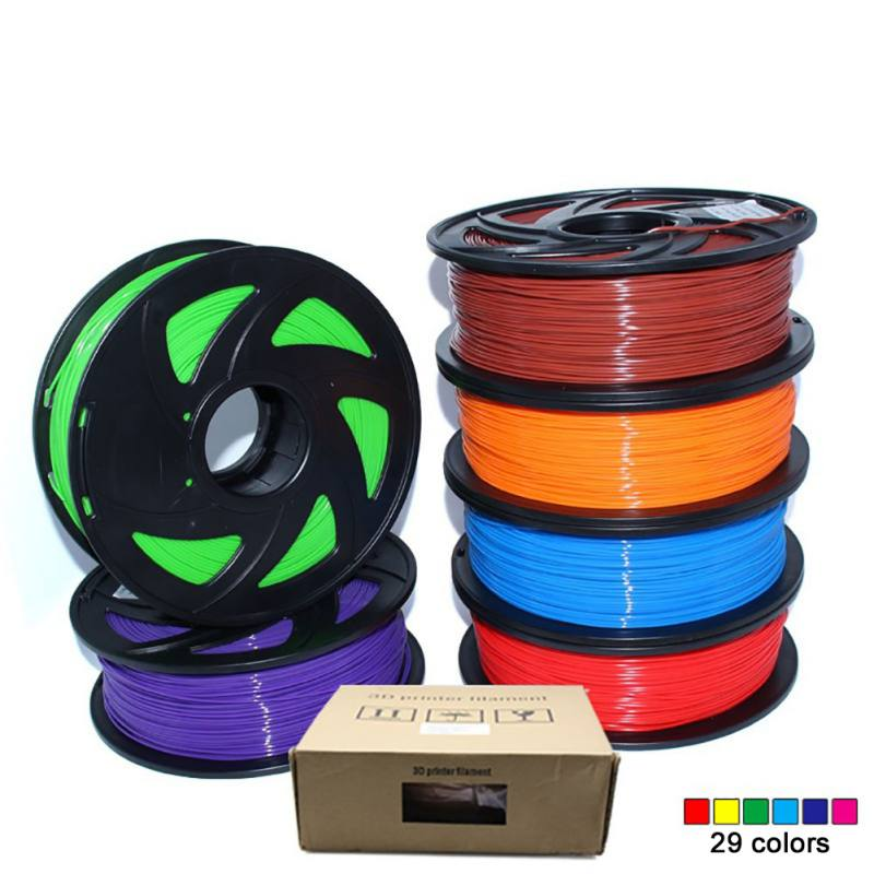 300M ABS 1.75mm Filament 1KG Colorful Printing Materials For 3D Printer Extruder Pen Rainbow Plastic Accessories pla 1 75mm filament 1kg printing materials colorful for 3d printer extruder pen rainbow plastic accessories black white red gray