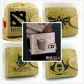 Кредо убийцы игры Легенда О zelda Нападение на Titan логотип кошельки Аниме мешок денег DOTA 2 PU бумажник бесплатно доставка