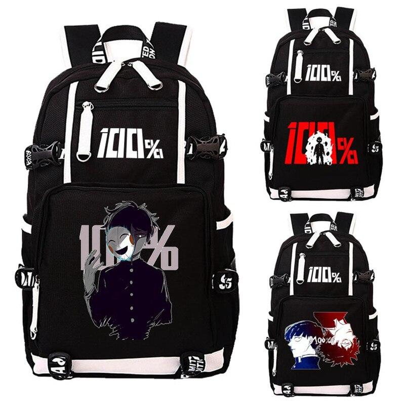 Laptop Backpack Psycho Teenagers Rucksack-Bag Students-Book School Gift 100 Cartoo Mob