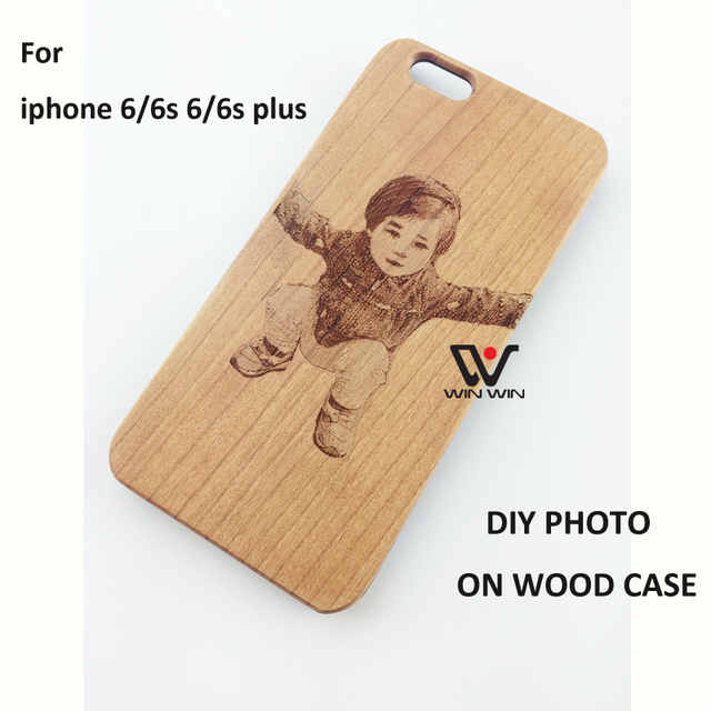 more photos 5eab0 8381e US $9.99 |Amazing Custom DIY LOGO Blank Wood Cell Phone Case Wooden Laser  Engrave Cover Capa for iPhone 5 5S SE 6 6S 6PLUS 6SPLUS 7 7PLUS on ...