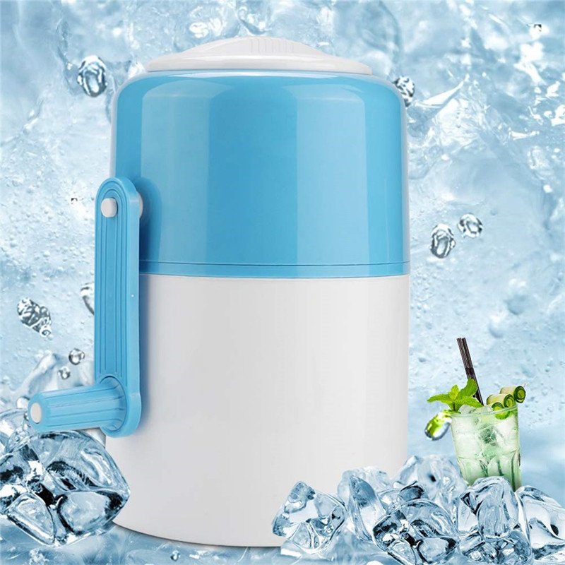 VOGVIGO Mini Portable Hand Crank Manual Ice Crusher Hand Shaved Ice Machine Household Ice Shaver Snow Cone Maker Kitchen Tools in Other Ice Cream Tools from Home Garden