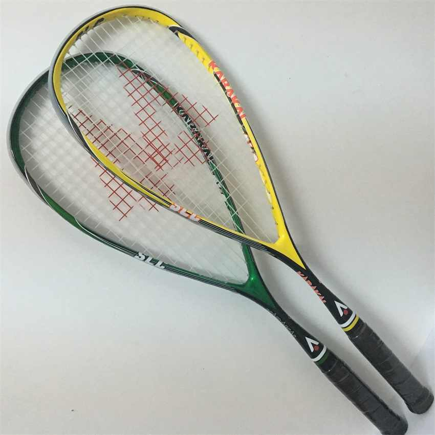 Hot selling squash racket made of 100% carbon fiber Karakal squash racket light weight racket de squash