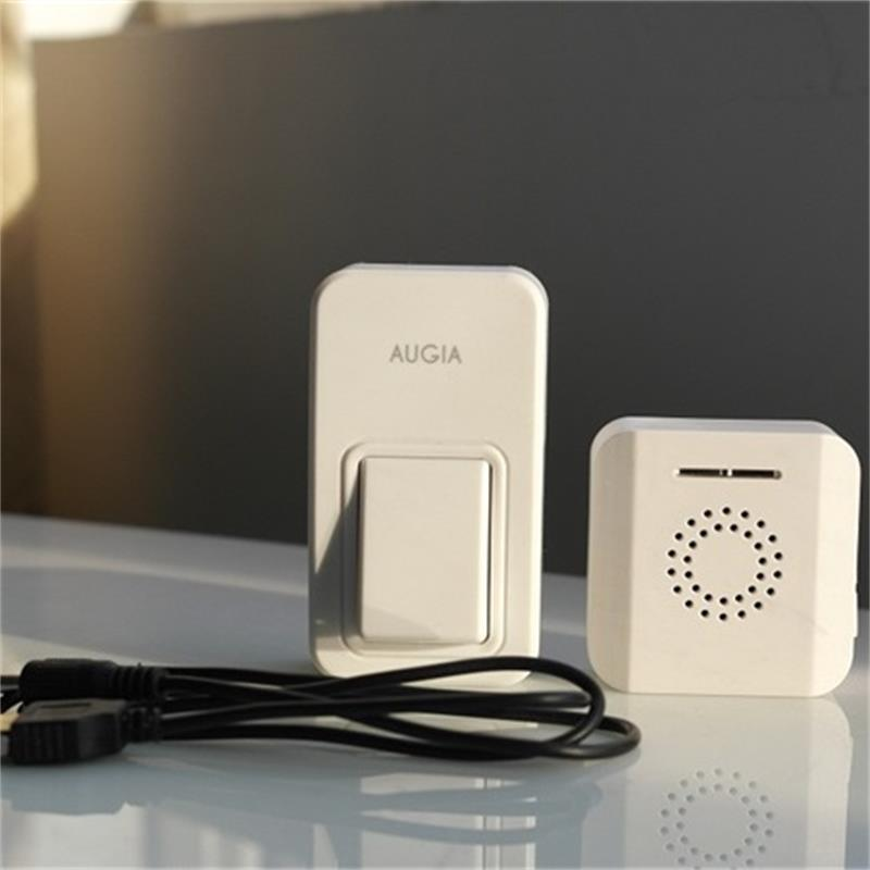 wireless door bell need no battery. Loud sound for the old. USB interface that convenient .38 ring bells.waterproof.high quality