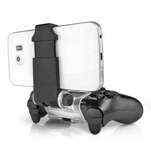 Image 3 - עבור PS4 אביזרי קליפ מהדק Stand Bracket עבור פלייסטיישן 4/רזה/פרו Dualshock 4 בקר מחזיק ג ויסטיק הר