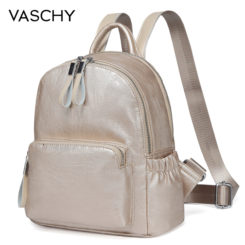 newest newest selection latest selection of 2019 US $27.43 38% OFF|VASCHY Golden Mini Backpack Purse,Vaschy Faux Leather  Small Backpack for Women cute backpack bag pack bag kawaii backpack-in ...