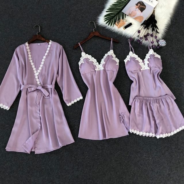 4 PIECES LACE CHEST PADS SEXY WOMEN NIGHTWEAR (4 VARIAN)