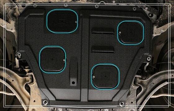 Higher Star 3d Pom Car Engine Skid Plate Motor Bottom