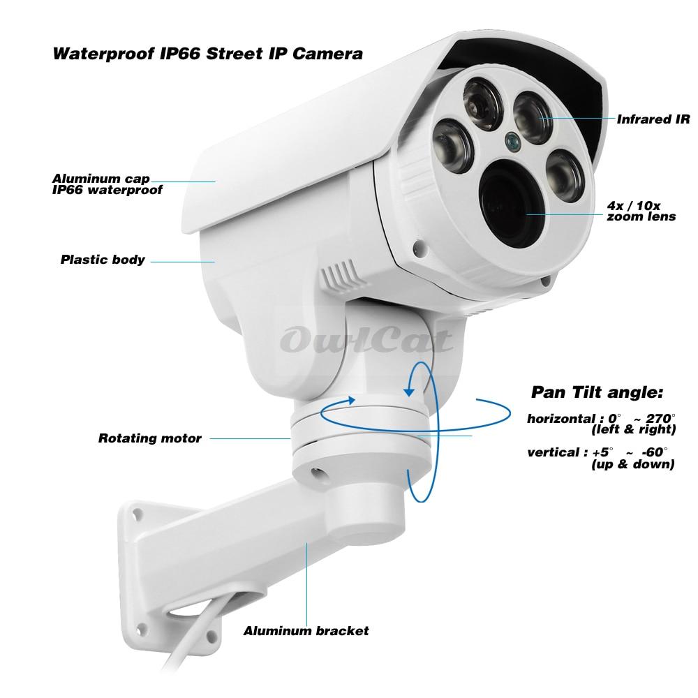 OwlCat IP-Kamera 2MP 5MP HD-Sicherheitskamera für den Außenbereich - Schutz und Sicherheit - Foto 2