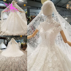 Image 1 - AIJINGYU vestido de boda tul Suiza Medieval fiesta bola tamaño Plus hermoso compromiso Sexy vestidos de novia simples
