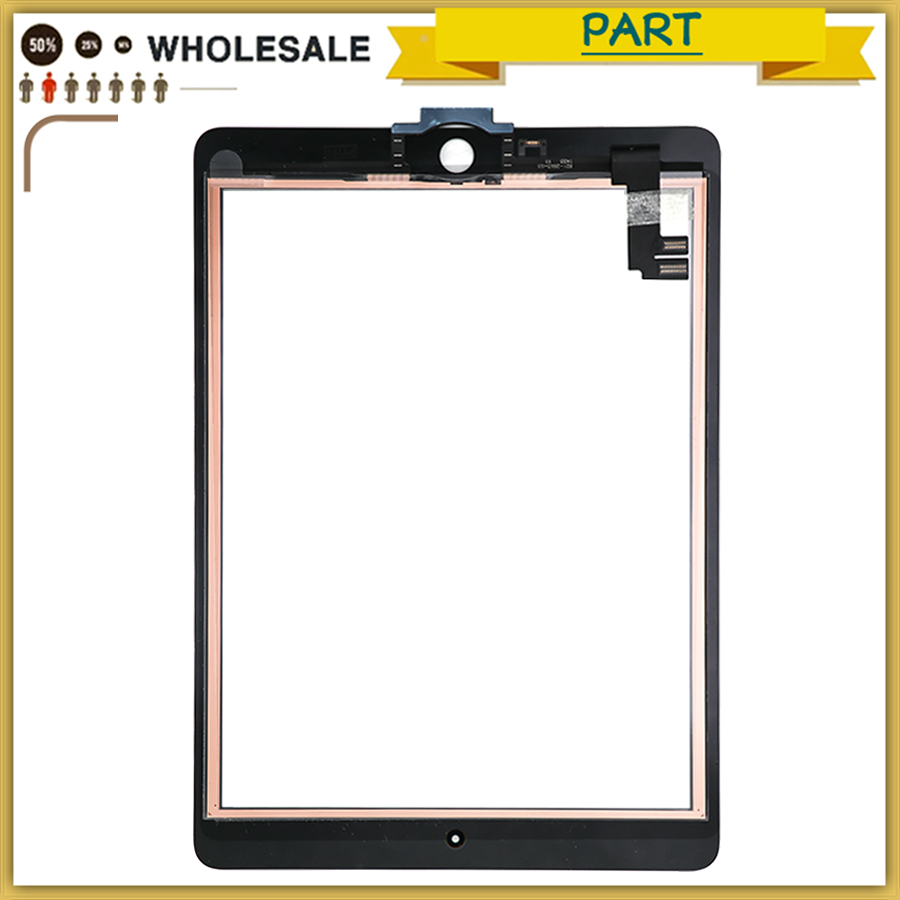 For iPad Air 2 For iPad 6 A1567 A1566 Touch screen panel Digitizer Sensor Front Glass For ipad 6 Touchscreen with Home Button For iPad Air 2 For iPad 6 A1567 A1566 Touch screen panel Digitizer Sensor Front Glass For ipad 6 Touchscreen with Home Button