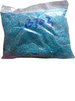1KG 1 128 PET Laser Hexagon Glitter Powder Cosmetic Grade Holographic PET Glitter High Temperature Temporary