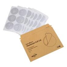 120/240/360 unids tapas de aluminio adhesivo Nespreso sellos de relleno vacío Cápsulas de Nespresso Nespresso cápsula desechable DIY Originales