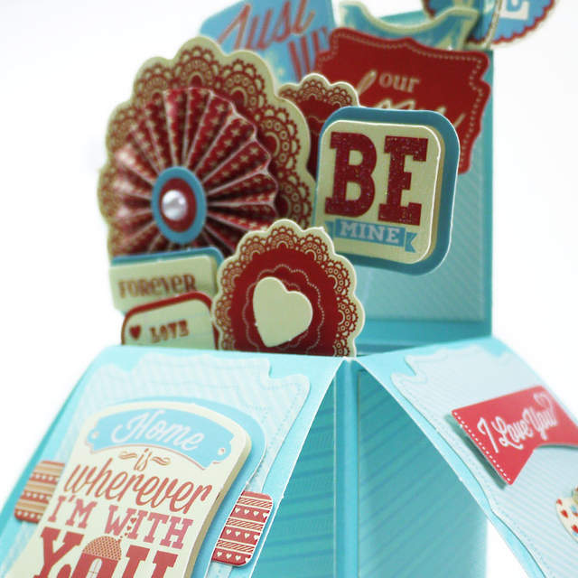 Online Shop Eno Greeting Valentine Pop Up Box Card Making Kit Birthday Wedding Gift 3D In A