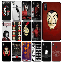 MaiYaCa Spain TV The Casa of papel Novelty Fundas Phone Case Cover for Xiaomi Mi 8 8 SE 6 Note 3 MIX 2 2S Note 3 Cover casa 25g 8 page 8