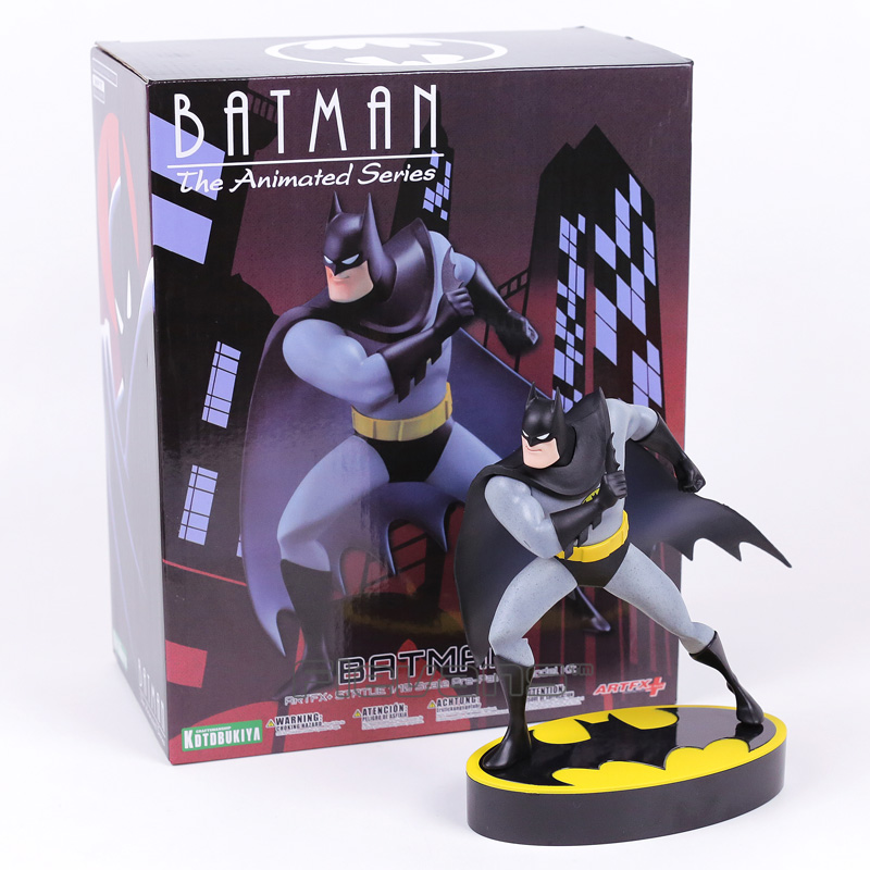 ARTFX + STATUE Batman The Animated Series 1/10 Scale Pre-painted Figure Model Kit artfx statue dc super hero red robin 1 10 scale pre painted figure collectible model toy
