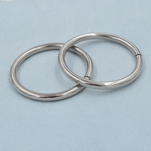 (10 pieces/lot) An inner diameter of 38mm big circle. DIY clothing accessories. Big ring. Curtains hanging Bag buckles.