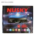 Receptor de TV por satélite Nusky N3GS FTA DVB-S/S2 con IKS SKS IPTV para Brasil/Chile/América Del Sur