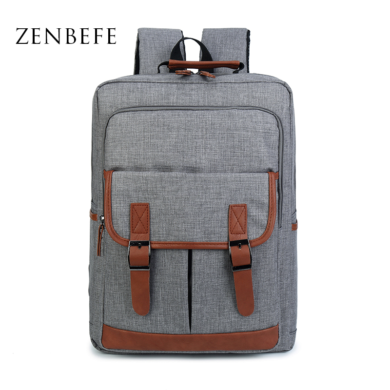 ZENBEFE Brand Backpack For Business High Quality Backpack For Laptop School Bag For Teenagers Mens's Travel Bag Day Laptop Bags voyjoy t 530 travel bag backpack men high capacity 15 inch laptop notebook mochila waterproof for school teenagers students