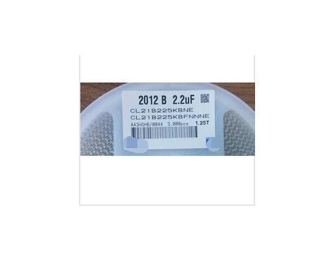2000PCS Envio gratis 2.2 UF 0805 225PF 2012 225 K 0805 50 V condensadores de CHIP SMD originales cl21a106koqnnne 0805 106k x5r 16v smd 10uf 2000pcs