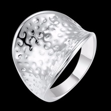 925 Sterling Silver Classic Style Big Thumb Rings For Men Women Jewelry gift boxes free shipping