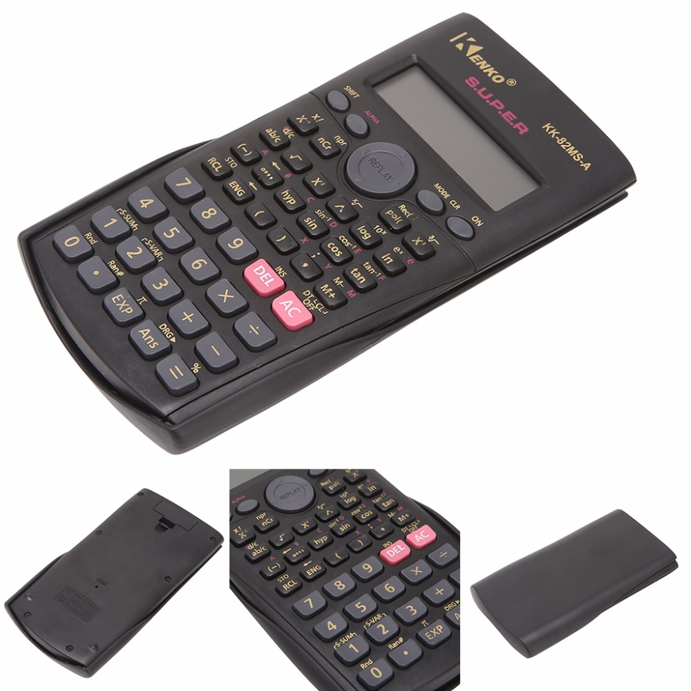 Студент мульти-Функция 2-линии Дисплей 12 разрядный электронный научный калькулятор