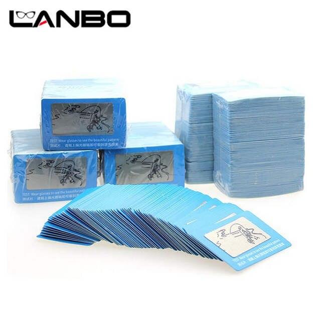 c2771f5d6ec01 placeholder LANBO 100 pcs TAC Lente Polarizada Cartão de Teste Cartão de  Teste para Teste de Polarização