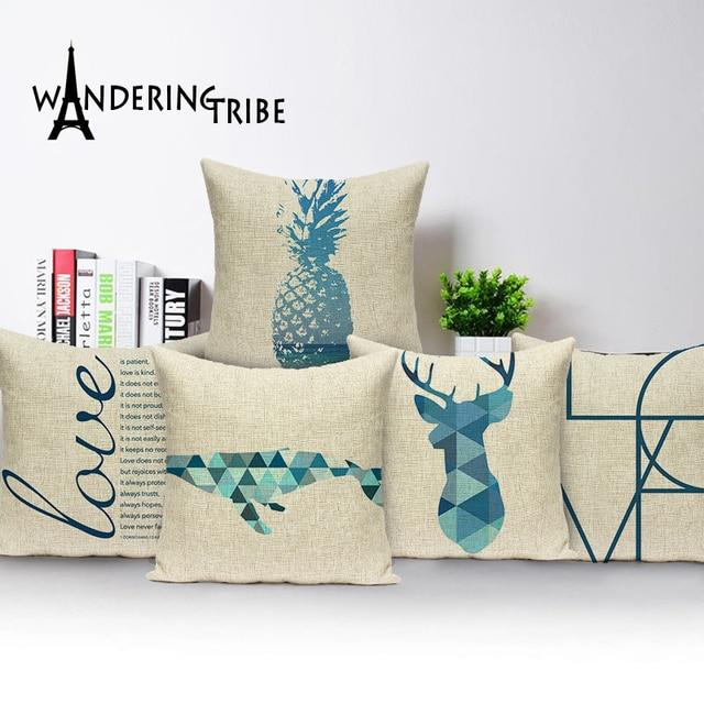 Decorative Pillows Geometric Outdoor Cushions Custom High Quality Throw Animal Print Cushion
