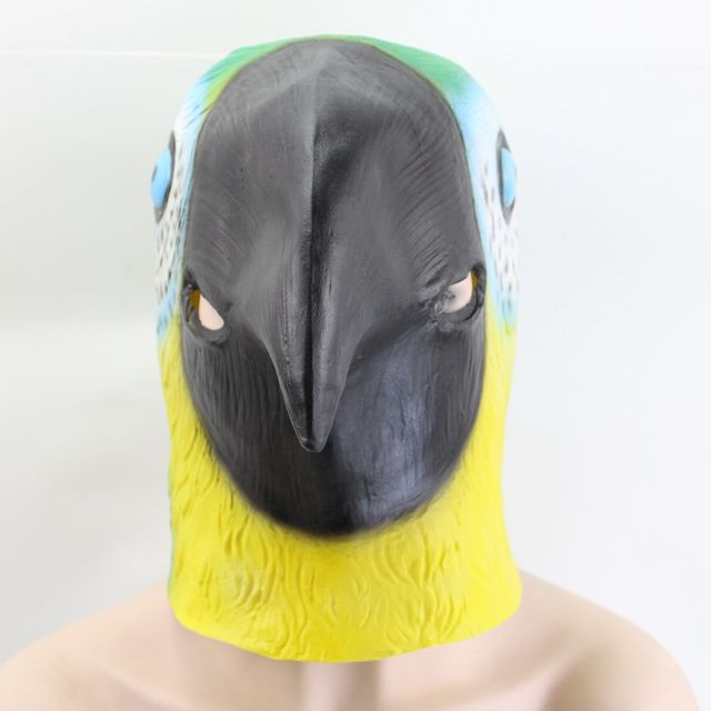 Halloween Party Parrot Mask