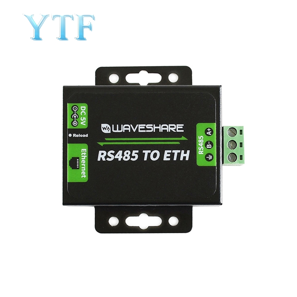 RS485 To Ethernet Module RJ45 Network Port Serial Server Two-way Transparent Transmission