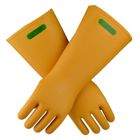 Hot Selling 42cm 35KV Insulating Latex Work Gloves Designed By State Grid Power System Special Labor