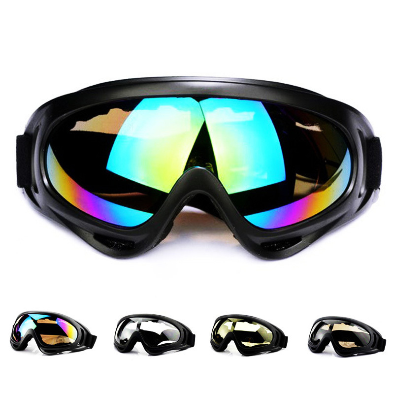 Winter Snow Sports Snowboard Snowmobile Anti-fog Goggles Windproof Dustproof Glasses